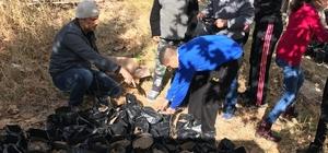 Aksaray'da özel çocuklar ağaç dikti