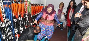 Kayak hayalini Hakkari'de gerçekleştirdi