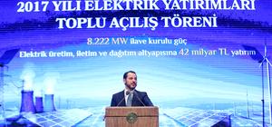2017 Yılı Elektrik Yatırımları Toplu Açılış Töreni