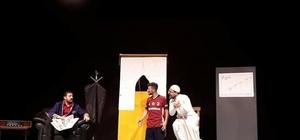 VEDAŞ ekiplerinden tiyatro gösterisi