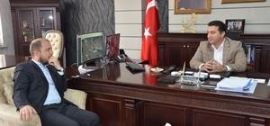 Başkan Bakıcı'ya Ak Parti il ve ilçe başkanlarından nezaket ziyareti