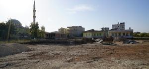 Siteler Mahallesi Taziye Evinin temeli atıldı