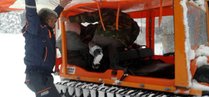 Yaylada mahsur kalan öğrenciler kurtarıldı