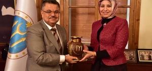 Milli Eğitim Müdürü Durmuş'tan Başkan Yağcı'ya ziyaret