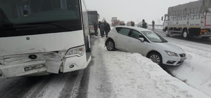 Nevşehir'de trafik kazası: 1 yaralı