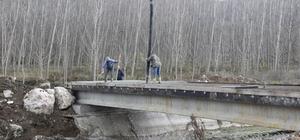 Vezirhan'da köprü çalışmalarının sonuna gelindi