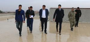Akçakale belediye hizmet binası ve kültür merkezi inşaatında sona gelindi