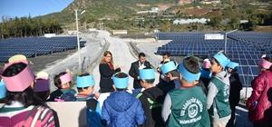 Güneş Enerjisi Santrali öğrencileri ağırladı