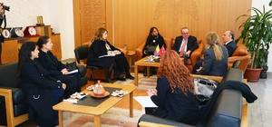 Kolombiya Büyükelçisi Juan Alfredo Pinto Saavedra'dan Kayseri Valiliğine Ziyaret