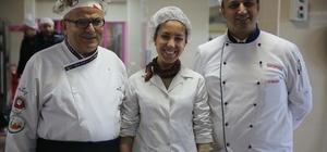 Lezzet sırrını öğrenen aşçılara, hastalardan tam puan