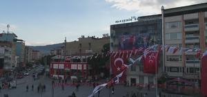 Alaşehir Bahçeli'yi karşılamaya hazırlanıyor