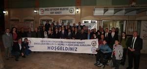 enizli Büyükşehir engelliler meclisinde seçim