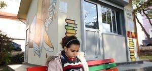 Konak'ın parkları kitaplarla donatılıyor
