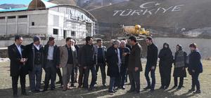 İranlı tekstil yatırımcıları Van'a geldi