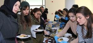 Üniversite öğrencilerinden 'Şehit Ailelerine Yardım Kermesi'
