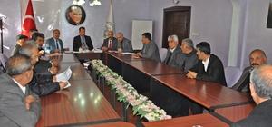 Erkenek grup içme suyu birliği toplantısı düzenlendi