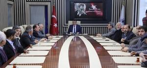 Muhtarlardan Başkan Gürkan'a 'Hayırlı olsun' ziyareti