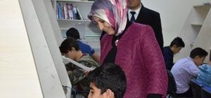 İl Milli Eğitim Müdürü Durmuş, pansiyonda kalan öğrencileri ziyaret etti