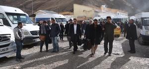 İran heyeti, DAKA'nın davetlisi olarak Van'a geldi