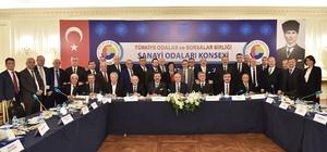 YSO Başkanı Şahin, TOBB Sanayi Odaları Konsey Toplantısına katıldı