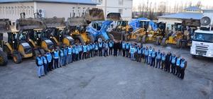 İpekyolu Belediyesi karla mücadeleye hazır