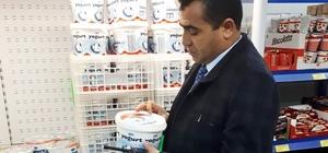 Sungurlu'da Zabıta ekipleri marketleri denetledi
