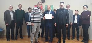 Kursiyerler 'bağlama kursu' sonunda sertifikalarını aldılar