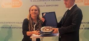 Sağlık Bakanlığı'ndan ÇEKOOP'a birincilik ödülü
