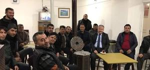 Develi Kaymakamı Duru çay ocağında vatandaşlarla buluştu