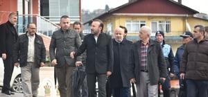 Başkan Doğan, Zabıtan Mahallesi'ni ziyaret etti