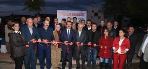 Başkan Soner Çetin, her salı açılış yapıyor