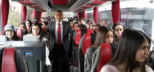 Tunceli'de 600 öğrenciye üniversite tanıtım gezisi