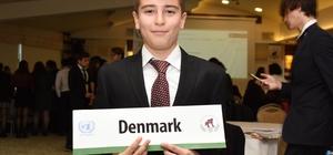uğla BİLSEM öğrencileri Model Birleşmiş Milletler Konferansında