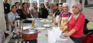 Odunpazarı'ndan kadınlar için aşçılık kursu açtı