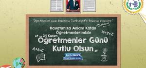 Bozüyük Belediye Başkanı Fatih Bakıcı'nın Öğretmenler Günü mesajı