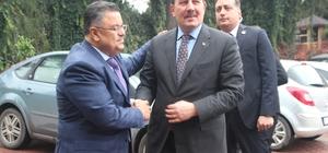 AK Parti Genel Başkan Yardımcısı Karacan'dan Başkan Yağcı'ya ziyaret