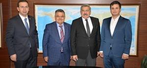 Başkan Yağcı'dan Kültür ve Turizm Bakanlığı ziyareti