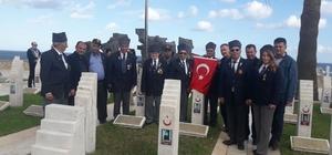 Salihlili gaziler, 44 yıl sonra Kıbrıs'ta