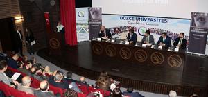 """Düzce'de """"1. Uluslararası Göç ve Mülteci Kongresi"""" başladı"""