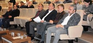 ÇTSO yönetimi, üyelerle bir araya geldi