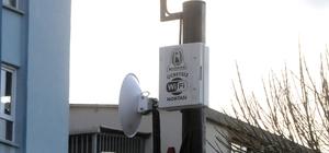 Çan Belediyesinden ücretsiz wifi hizmeti