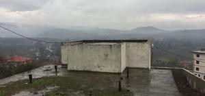 Köy deposuna müdahale edildi