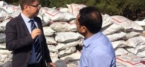 Nurdağı'nda ihtiyaç sahiplerine kömür dağıtımı