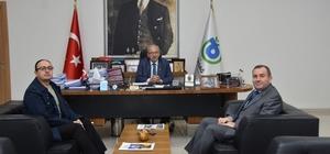 Başkan Albayrak, İl Sağlık Müdürü ve Sağlık Bakanlığı Koordinatörünü ağırladı