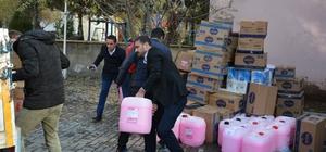 Trabzon'dan Güroymak'a sevgi eli