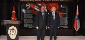 AK Parti Genel Başkan Yardımcısı Karacan'dan İl Emniyet Müdürü Namal'a ziyaret