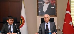 Kazakistan iş yatırım heyeti GSO'da