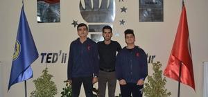 TED'li öğrenciler YGA zirvesinde
