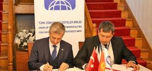 Şahinbey ve Tokmok belediyeleri kardeş oldu