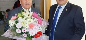 Ziraat odası başkanlarından AK Parti İl Başkanı Ertürk'e hayırlı olsun ziyareti